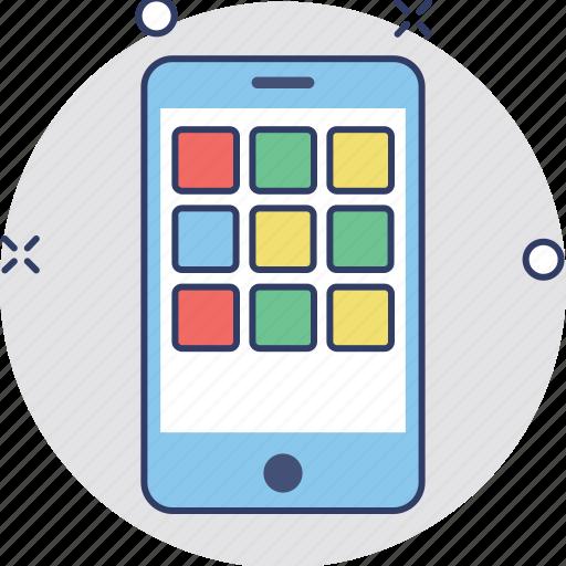 mobile, mobile interface, mobile menu, mobile ux, smartphone icon