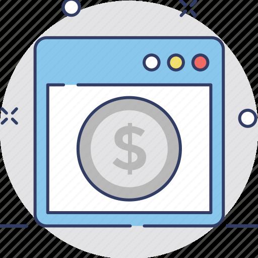 e commerce, finance, online banking, online business, online transaction icon