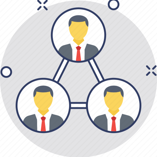 administration, management, supervision, team, team hierarchy icon