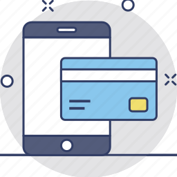 credit card, e banking, mcommerce, mobile banking, payment icon
