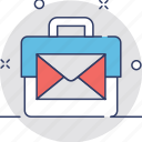 electronic marketing, email marketing, emarketing, social media, vpn marketing icon