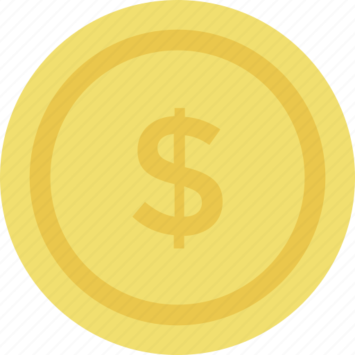 cash, dollar, dollar coin, finance, money icon