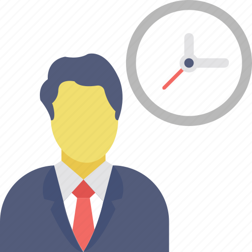 busy, late, office timing, punctual, schedule icon