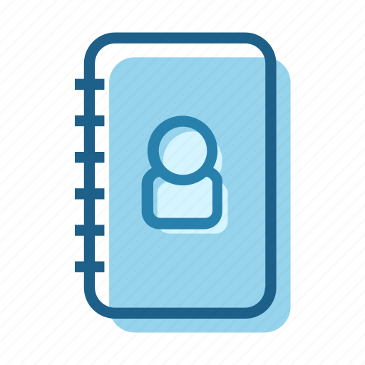 address, book, business, employee, list, people, phone icon