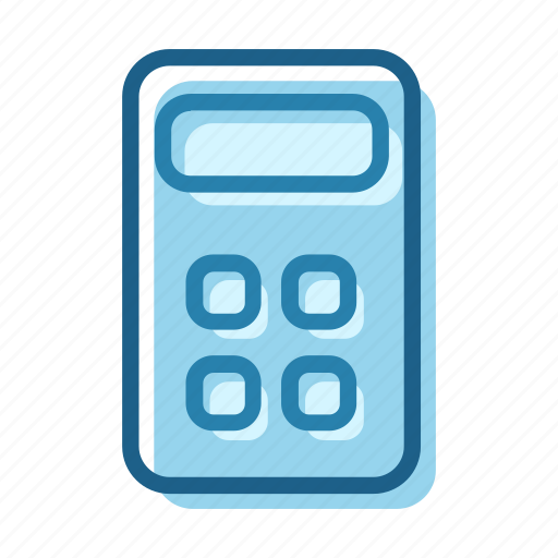 business, calculate, calculator, compute, machine, math, technology icon