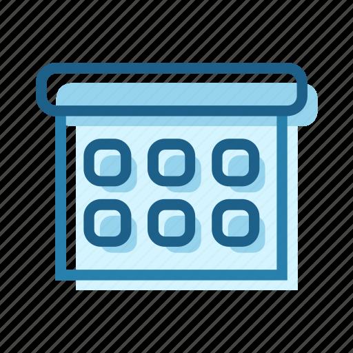 business, calendar, list, month, plan, schedule icon
