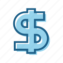 bill, business, cash, currency, dollar, money icon