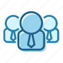 avatar, business, employee, group, men, people, person icon