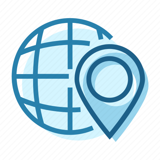Address, business, global, location, pin, world, worldwide icon - Download on Iconfinder