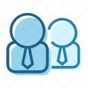avatar, business, employee, group, people, person, user icon