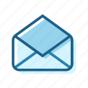 business, connect, email, letter, old, read, seen icon