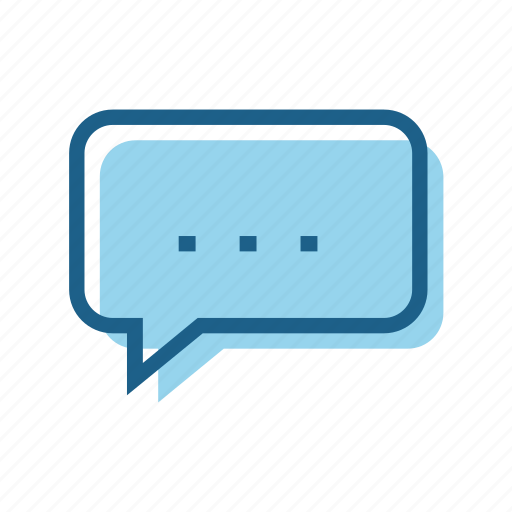 bubble, business, connect, digital, speech, talk, text icon
