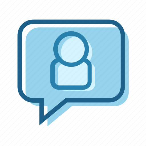bubble, business, call, digital, message, text, video icon
