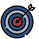 target, marketing, seo, arrow, business, goal