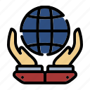 global, earth, world, business, international, hands