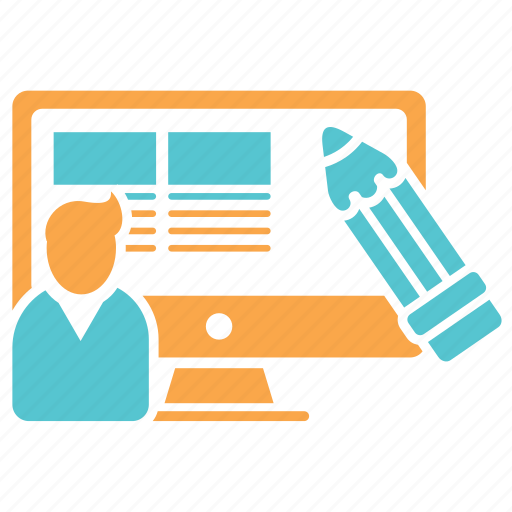 copywriter, design, designer, web, web design, wireframe icon