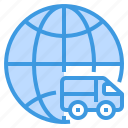 business, delivery, finance, global, management, marketing, money icon