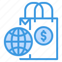business, finance, global, management, marketing, money, sale icon