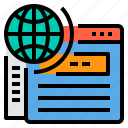 business, file, finance, management, marketing, money, sharing icon