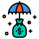bag, business, finance, management, marketing, money icon