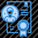 business, certificate, finance, management, marketing, money icon
