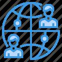 business, finance, global, management, marketing, money icon