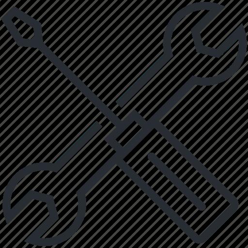 business, maintenance, pixel icon, setting, setup, thin line, utility icon