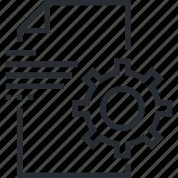 business, concept, content, management, pixel icon, seo, thin line icon