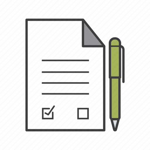 agreement, business document, contract, deal, document, pen, treaty icon