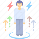 customer, eccentricity, job, occupational, pressure, stress, workload icon