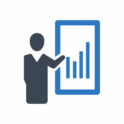 business, graph, report icon