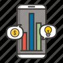 business, concept, development, finance, idea, money, profit icon