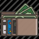 business, concept, development, idea, money, profit, wallet icon
