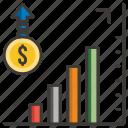 business, chart, concept, development, idea, money, profit icon