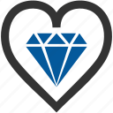 best, diamond, quality, work icon