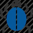 bacteria, bug, germ, infection, malware, virus icon