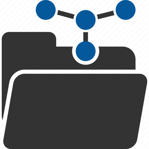 folder, group, net, network, networking, system icon