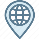 address, business, destination, globe, location, logistic, logistics icon