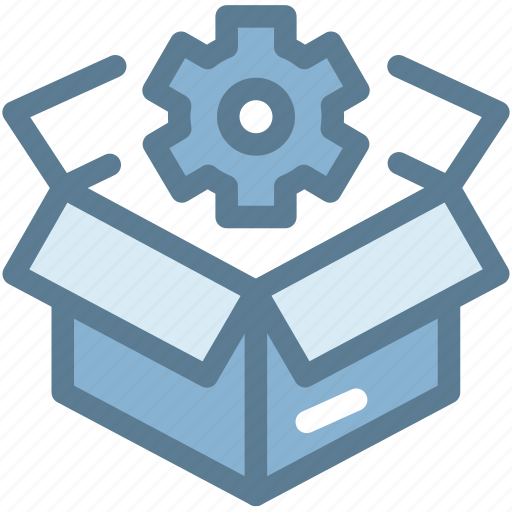 business, cogwheel, logistics, package, preferences, seo package, setting icon