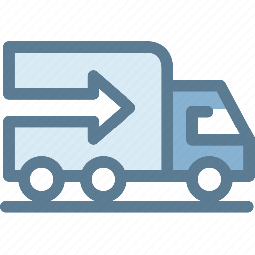 business, delivery, export, logistics, transportation, truck icon