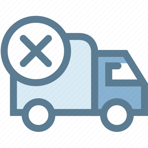 Business, cancel delivery, logistic, logistics, order cancel, shipping, transport icon - Download on Iconfinder