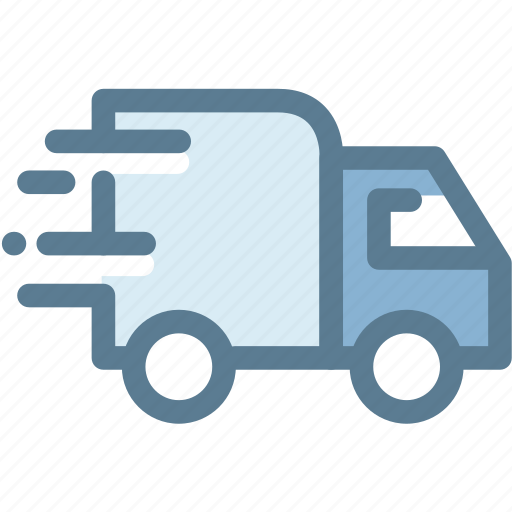 business, delivery truck, delivery van, fast delivery, logistics, package delivery, transportation icon