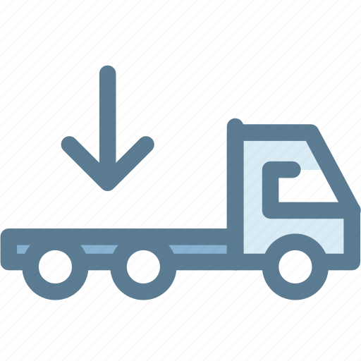 business, delivery truck, flatbed, flatbed truck, logistics, transportation, truck icon