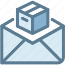 business, deliver, give, logistics, mail, send package, shipping icon