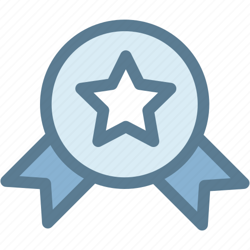 award, business, logistics, medal, star, star medal, win icon