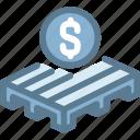 business, logistics, money, pallet, sale pallet, ship