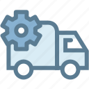 business, delivery, logistics, lorry, setting, setting transport, transport icon