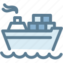 boat, business, container, logistic, logistics, ship, transportation