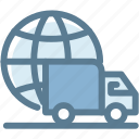 delivery, delivery truck, delivery van, fast delivery, logistics, lorry, transportation icon