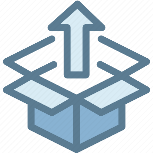 business, delivery, export, logistic, open packaging federation, package, parcel icon